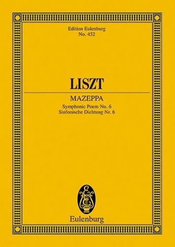 Franz Liszt - Mazeppa, Symphonic Poem N ° 6 - Partition - di-arezzo.com