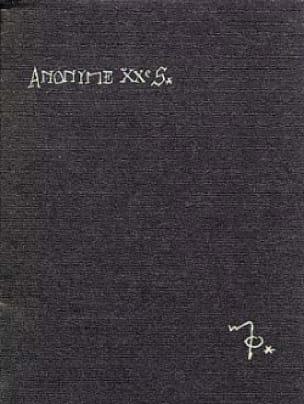 Anonyme Xxe Siecle - Maurice Ohana - Partition - laflutedepan.com