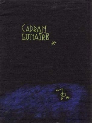 Cadran lunaire - Maurice Ohana - Partition - laflutedepan.com