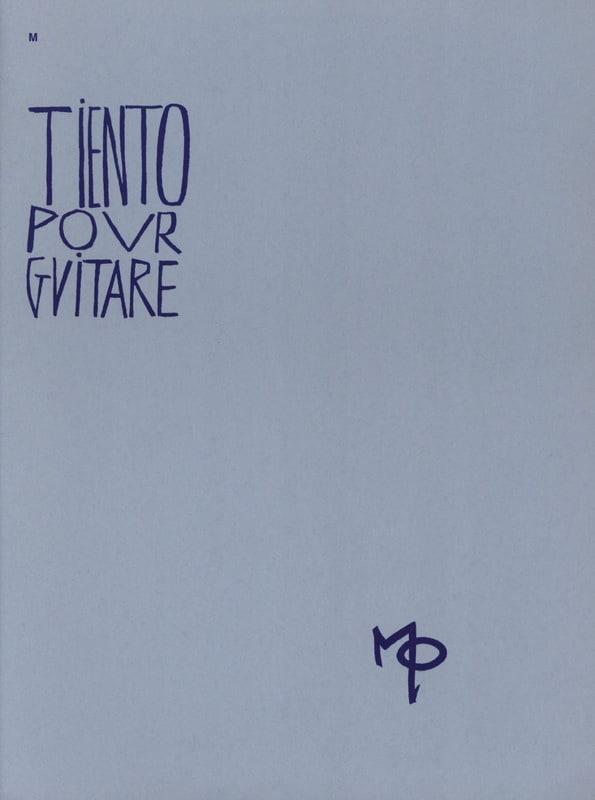 Tiento pour guitare - Maurice Ohana - Partition - laflutedepan.com