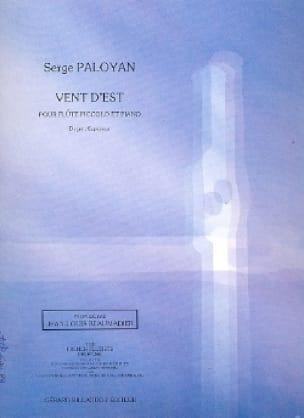 Vent d'est - Serge Paloyan - Partition - laflutedepan.com