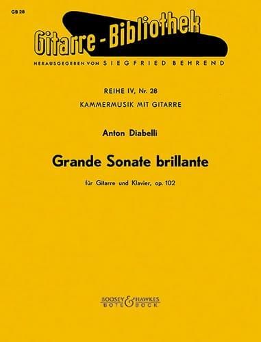 Grande Sonate brillante op. 102 -Gitarre Klavier - laflutedepan.com