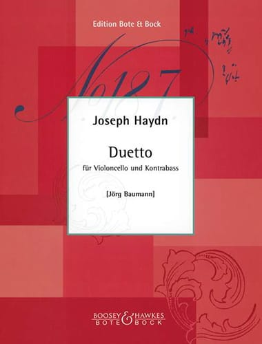 HAYDN - Duetto - Partition - di-arezzo.co.uk