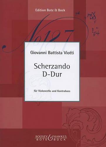 Scherzando D-Dur - Cello Kontrabass - VIOTTI - laflutedepan.com