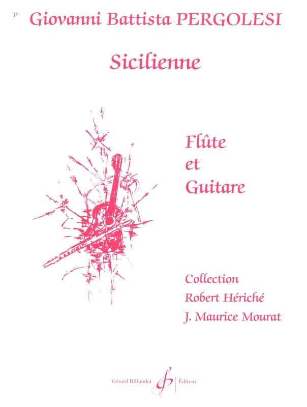 Sicilienne - Flûte Guitare - laflutedepan.com