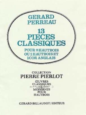 13 Pièces classiques - Partition - Hautbois - laflutedepan.com