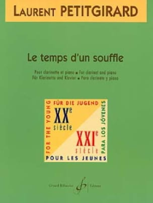 Le Temps d'un Souffle - Laurent Petitgirard - laflutedepan.com