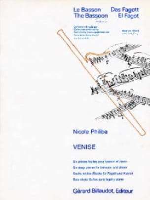 Venise - Nicole Philiba - Partition - Basson - laflutedepan.com