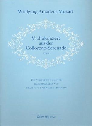 Violinkonzert aus der Colloredo-Serenade KV 203 - laflutedepan.com