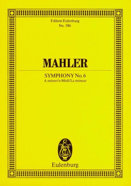 Symphonie Nr. 6 A-Moll - Conducteur - MAHLER - laflutedepan.com