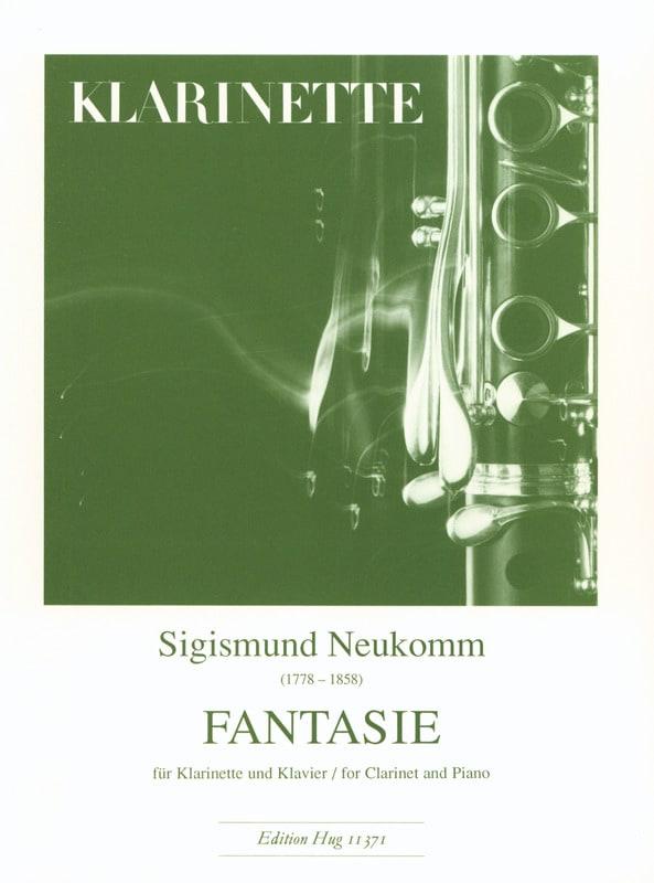 Fantaisie - Clarinette et Piano - Sigismund Neukomm - laflutedepan.com