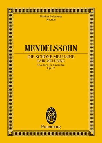 Die Schöne Melusine, Op. 32 - MENDELSSOHN - laflutedepan.com