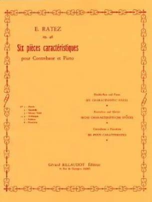 Arabesque op. 46 n° 4 extr. 6 Pièces Caractéristiques - laflutedepan.com