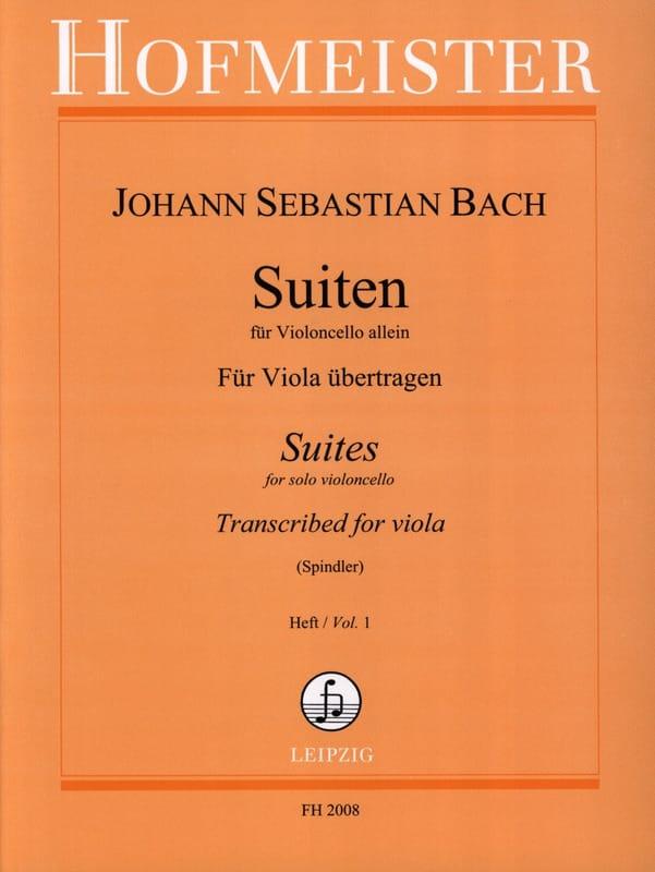 BACH - Suiten Für Violoncello Allein, Heft 1 - Alto - Partition - di-arezzo.com