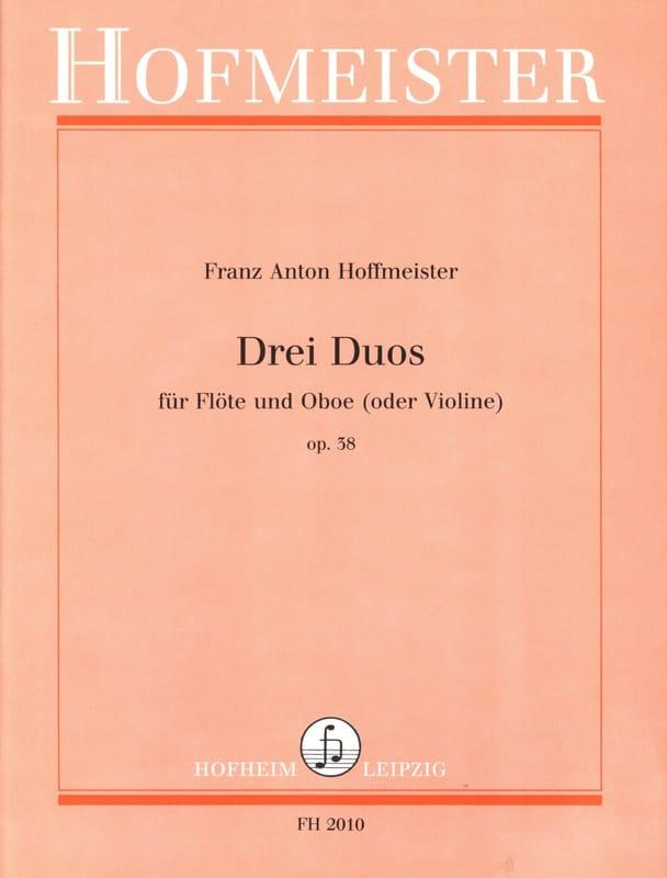 3 Duos op. 38 - Flöte und Oboe o. Violine - laflutedepan.com