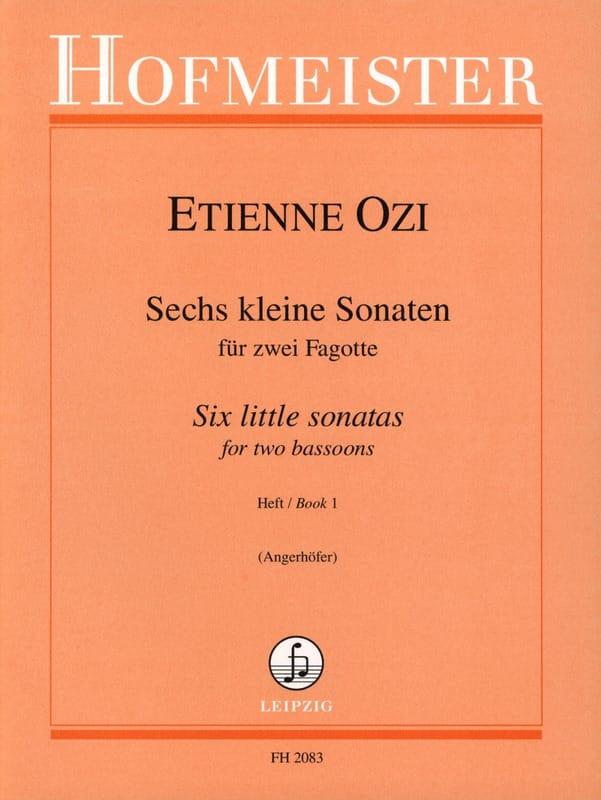 Etienne Ozi - 6 kleine Sonaten - Heft 1 - Partition - di-arezzo.com