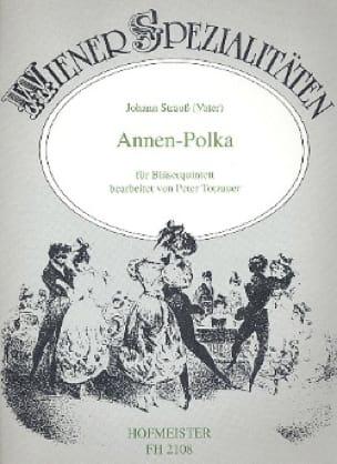Annen-Polka op. 137 -Bläserquintett - laflutedepan.com