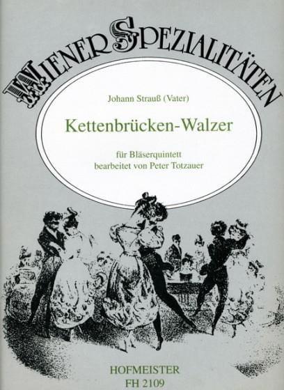 Kettenbrücken-Walzer op. 4 -Bläserquintett - laflutedepan.com