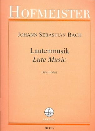 BACH - Lautenmusik - Partition - di-arezzo.co.uk