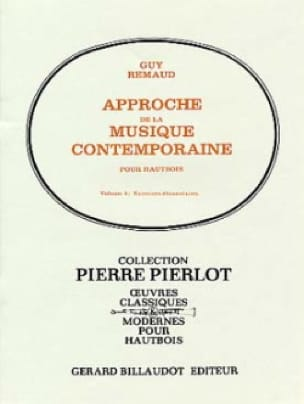 Guy Remaud - Approach to Contemporary Music Volume 2 - Partition - di-arezzo.co.uk