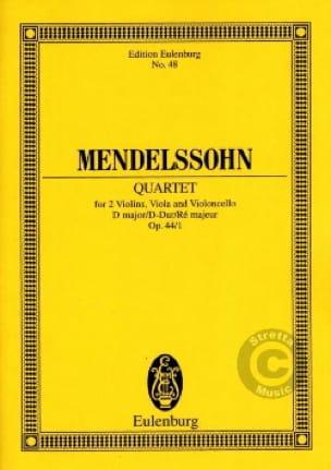String Quartet D Major Op. 44 N°1 - MENDELSSOHN - laflutedepan.com