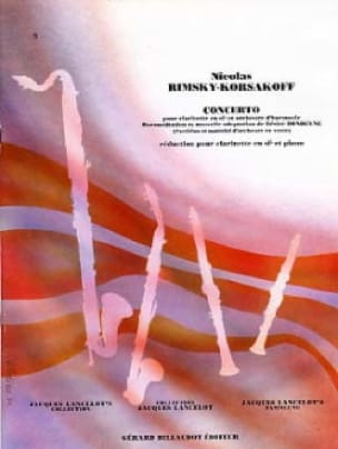 Concerto pourclarinette - RIMSKY-KORSAKOV - laflutedepan.com