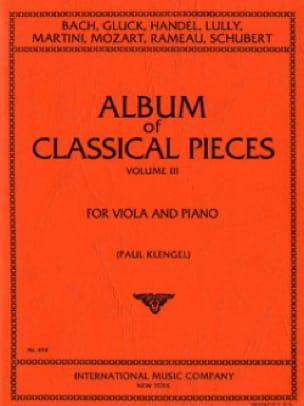 Album of classical pieces, Volume 3 - Paul Klengel - laflutedepan.com