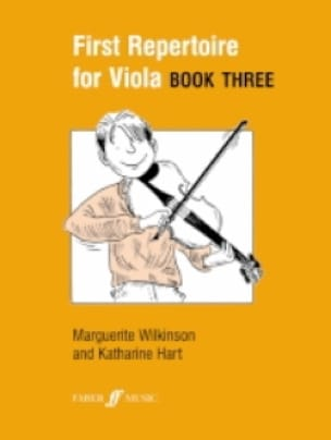 Wilkinson Marguerite / Hart Katherine - First repertoire for Viola - Book 3 - Partition - di-arezzo.co.uk