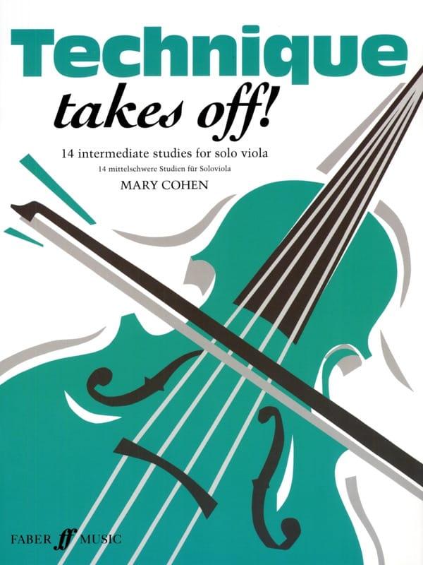 Mary Cohen - Technical Takes Off! -alto - Partition - di-arezzo.co.uk