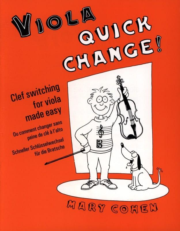 Mary Cohen - Viola Quick Change! - Partition - di-arezzo.co.uk