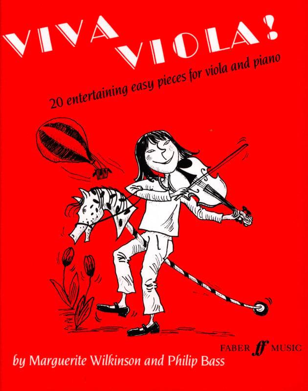 Viva Viola ! - Wilkinson Marguerite / Bass Philip - laflutedepan.com