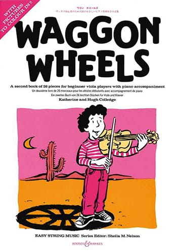 - Waggon Wheels - Viola and Piano - Partition - di-arezzo.com