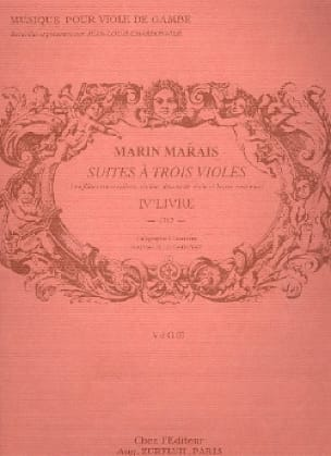 Marin Marais - Following three viols - Partition - di-arezzo.com