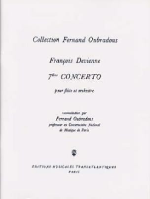 François Devienne - Concerto No. 7 in E Minor - Partition - di-arezzo.com