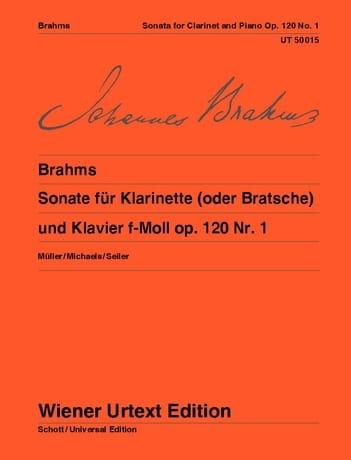 Sonate F-Moll Op. 120 Nr. 1 - BRAHMS - Partition - laflutedepan.com