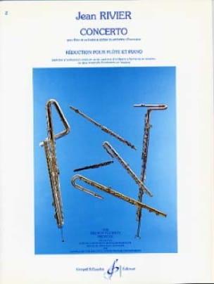 Concerto pour flûte - Flûte piano - Jean Rivier - laflutedepan.com