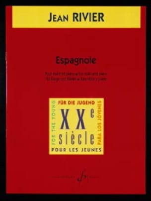 Espagnole - Jean Rivier - Partition - Violon - laflutedepan.com