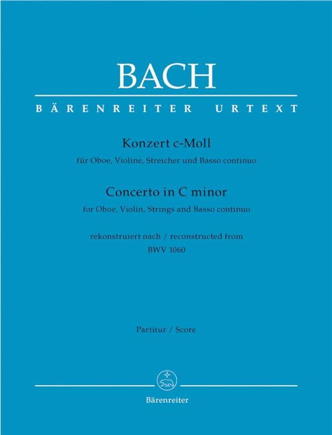 Konzert c-moll für Oboe, Violine nach BWV 1060 - laflutedepan.com