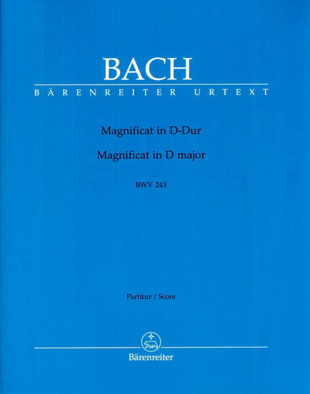 BACH - Magnificat BWV 243 D-Dur - Partition - di-arezzo.co.uk