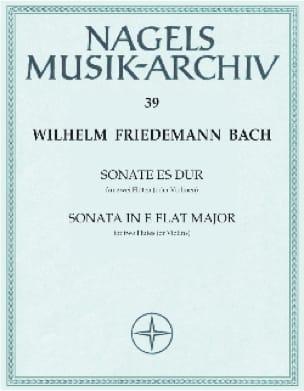 Sonate Es-Dur - 2 Flöten o. Violine - laflutedepan.com
