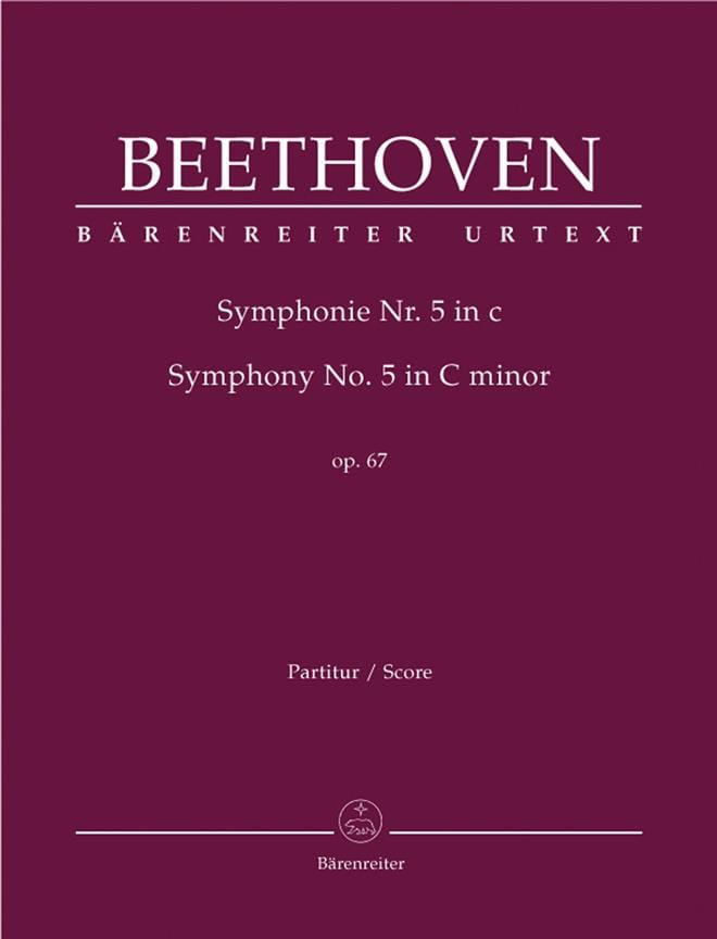BEETHOVEN - Symphony Nr. 5 c-moll op. 67 - Partitur - Partition - di-arezzo.co.uk