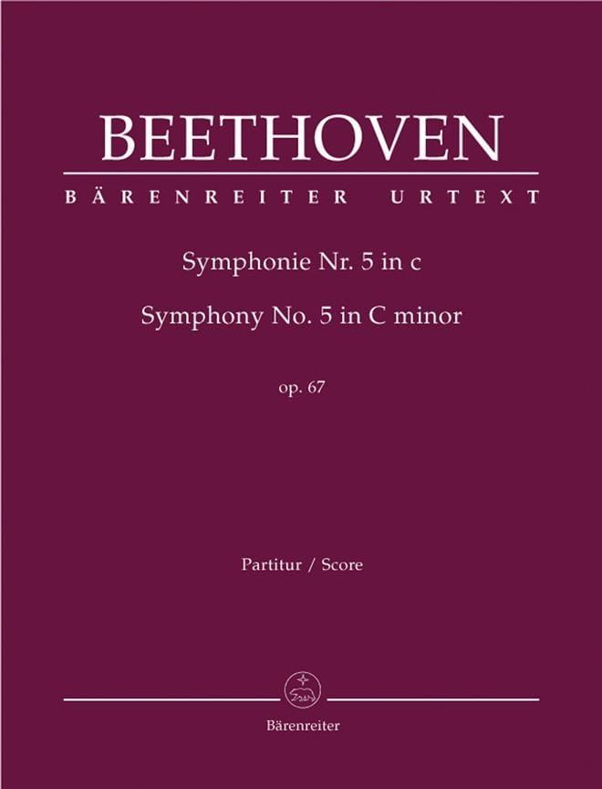 BEETHOVEN - Sinfonía Nr. 5 c-moll op. 67 - Partitur - Partition - di-arezzo.es