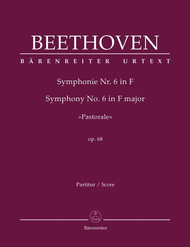 BEETHOVEN - Symphony No. 6 Pastoral F-Dur op. 68 - Partitur - Partition - di-arezzo.co.uk