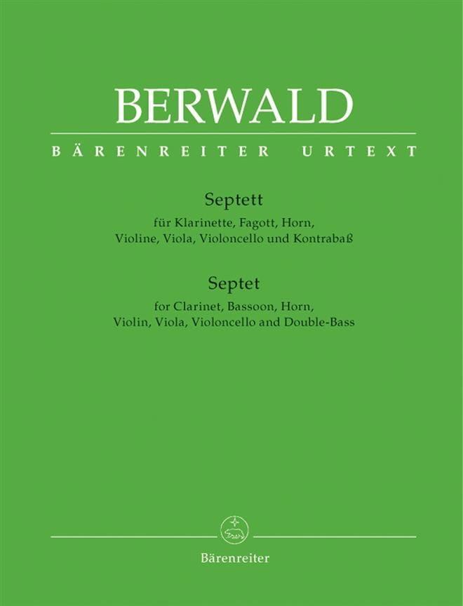Septett - Klarinette, Fagott, Horn, Violine, Viola, Violoncello Und Kontrabaß. - laflutedepan.com