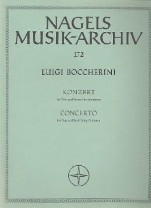 Concerto pour flûte - Partitur - BOCCHERINI - laflutedepan.com