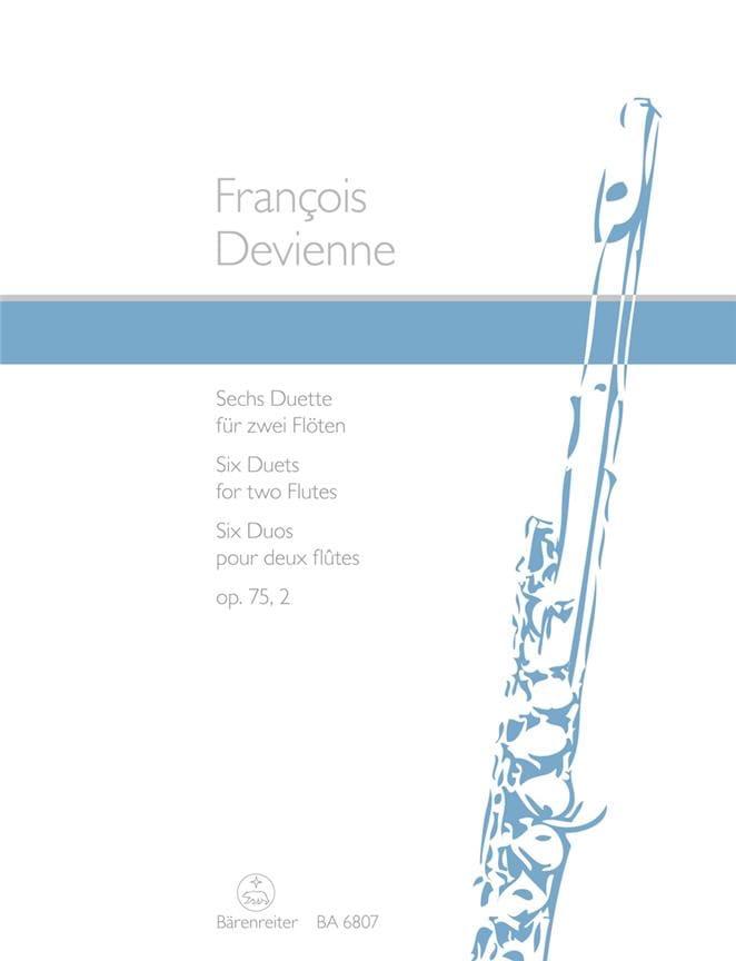 6 Duette op. 75/2 - 2 Flöten - François Devienne - laflutedepan.com