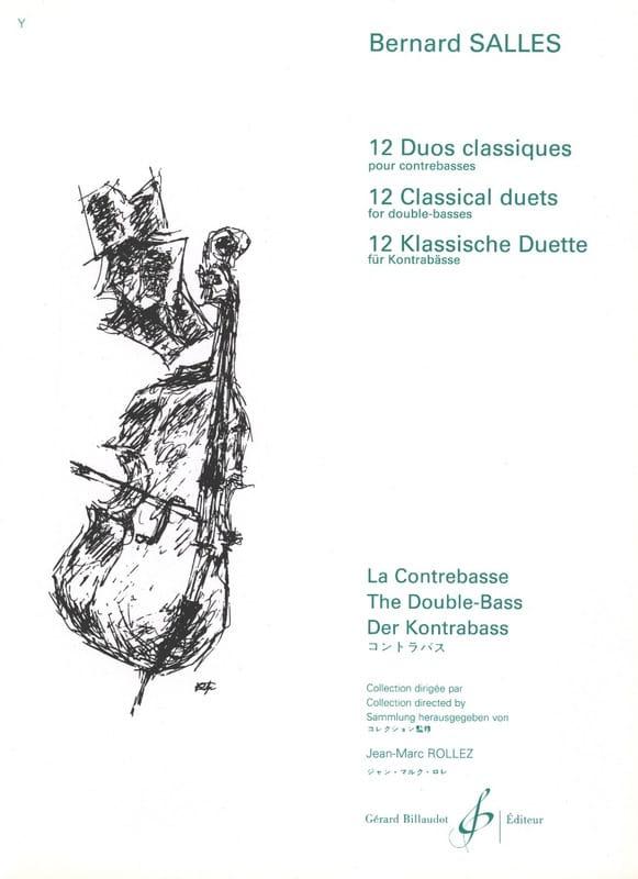 Bernard Salles - 12 duos clásicos - Partition - di-arezzo.es