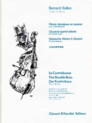 Bernard Salles - Piezas clásicas en cuartetos - Partition - di-arezzo.es