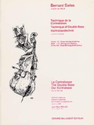 Bernard Salles - Volume 2 Double Bass Technique - Partition - di-arezzo.co.uk