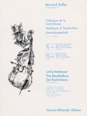 Bernard Salles - Double bass technique - Volume 2 - Partition - di-arezzo.co.uk